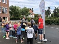 Frau Bögel-Hoyer besucht die TB- Ferienkinder