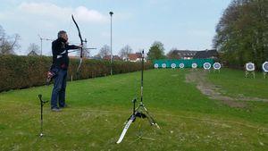 Neues Bogensportgelände von der Stadt genehmigt! Gestern erstes Training.