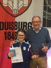 Titelgewinn beim Tiger & Turtle-Turnier in Duisburg