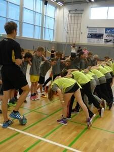 Wir spielen Handball