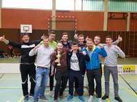 Floorballherren Vizemeister der Verbandsliga