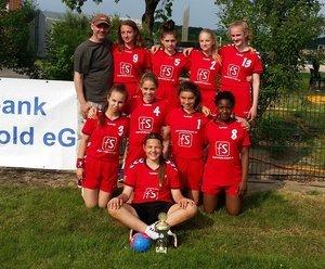 Turniersieg der weiblichen C1 in Hesselteich
