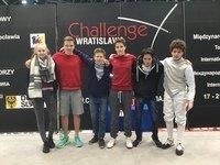 Steinfurter Fechter bei der 38. Challenge Wratislavia
