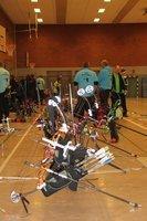 Hallen-Kreismeisterschaft von den TB-Bogenschützen ausgerichtet.