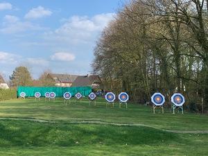 Training der Bogensportler ab sofort wieder im Freien!