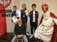 Dreifacher Sieg in Duisburg