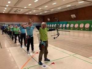 TB-Bogensportler richten Hallen-Kreismeisterschaft aus und gewinnen selbst 8 Medaillen!