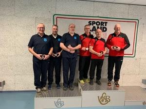 Bogen-Master-Team gewinnt Silber bei Hallen-Landesmeisterschaft