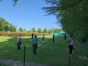 Bogensportler haben Training wieder aufgenommen!