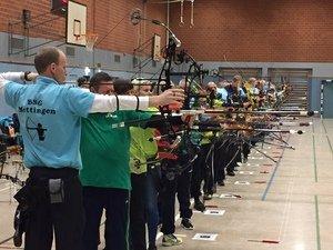 TB Burgsteinfurt richtete Hallen-Kreismeisterschaft im Bogenschießen aus!