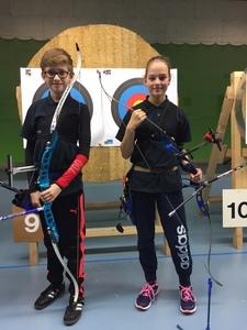 Jonas Laukötter und Leandra Janning in den Bezirkskader berufen!