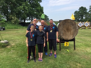Bogensportler mit Top-Platzierungen bei Bezirksmeisterschaft