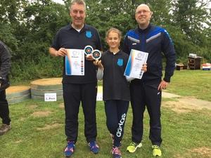 Leandra und Joachim Janning gewinnen in Ahlen.