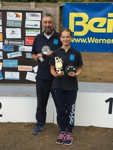 Leandra gewinnt in Reken und Münsterlandcup. Joachim wirft beide Siege weg.