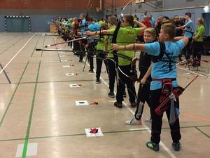 TB-Bogensportler haben erneut Hallen-Kreismeisterschaft ausgerichtet.