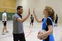 Volleyballer des TB suchen neue Mitspieler