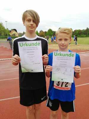 Felix und Niklas Mennigen siegen in Werl