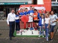 Die Sportstiftung der Kreissparkasse unterstützt den klimaneutralen Schülerlauf