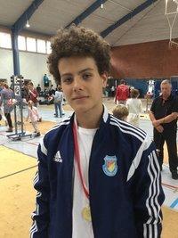 Sieger in Quernheim: Tarek Ghrairi