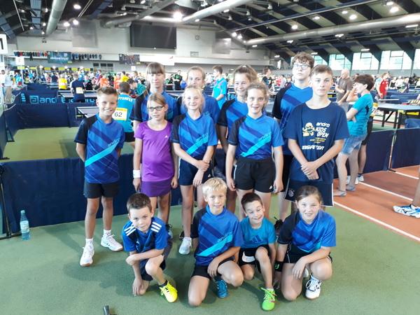 Tischtennis Kids Open