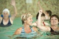 Freie Plätze in einigen Wassergymnastikkursen