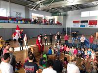 Großer Andrang beim Weihnachtssporteln